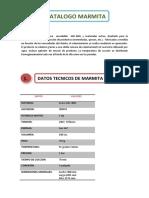 Catalogo Marmita Ultimo
