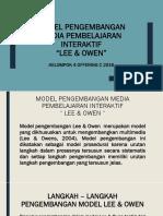 MODEL PENGEMBANGAN MEDIA PEMBELAJARAN INTERAKTIF -LEE & OWEN-.pptx