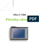 MIO C510E Czech User's Manual
