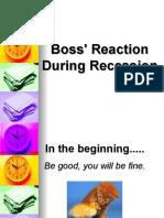 Boss Reaction