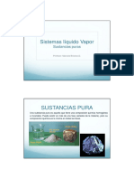2. Sistemas Líquido Vapor - Sustancias Puras