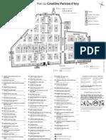 Plan du Cimetière Parisien d'Ivry (extramuros)