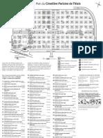 Plan du Cimetière Parisien de Thiais (extramuros)