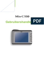 MIO C510E Dutch User's Manual