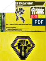 Malcontents Super Valkyrie Support Card for Robotech RPG Tactics