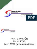 Participacion en Multas