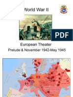Map of World War II