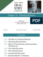 Kinetika Kimia Petrucci