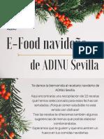 E-Food Navideño de ADINU Sevilla