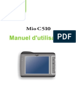 MIO C510E French User's Manual