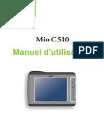 MIO C510E French User's Manual