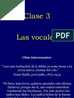 Clase 03  Las vocales.ppt