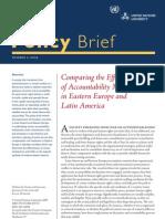 Accountability Mechanism in Latin America and Eastern Europe