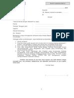 Contoh Format Lampiran 2