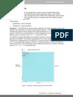 Validation Boussinesq Problem 2016