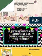 Exposicion Gestion Pedagogogica Grupal