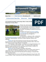 PA Environment Digest April 30, 2018