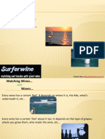 SurferWine - Matching Wines with Waves