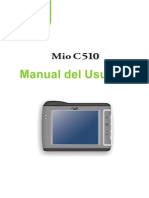 MIO C510E Spanish User's Manual