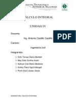 Cálculo Integral Investigacion