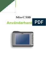 MIO C510E Swedish User's Manual