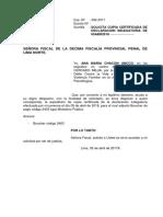 Solicitra Copia Certificada