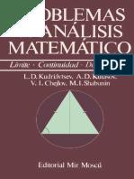 L.D. Kudriávtsev, A.D. Kutásov, V.I. Chejlov, M.I. Shabunin - Problemas de Análisis Matemático (1989, Editorial Mir).pdf