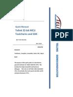 Telink TC32 IDE Quick Guide