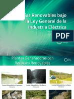 Energías Renovables Bajo La Ley General de La Industria Eléctrica