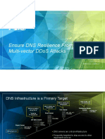 DDoS Protection for DNS Infastructure