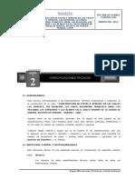 2. Especificaciones Tecnicas Pistas y Veredas San Martin