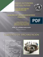 Análisis de Las Org. Públicas