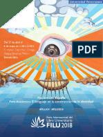 Programa de actividades de la Feria Internacional del Libro Universitario