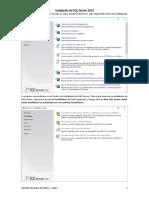 Instalación de SQL Server 2012