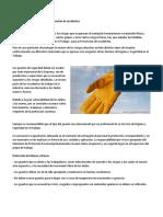 Guantes de Seguridad Para La Prevención de Accidentes