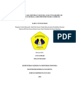 GAMBARAN CARA MENYIKAT GIGI PADA ANAK TUNAGRAHITA DI SEKOLAH LUAR BIASA AGRO INDUSTRI CISARUA LEMBANG.pdf