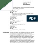 resume template-3