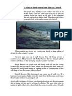 Oil Spill Project Report