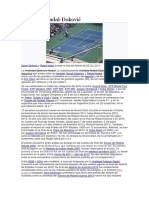 Rivalidad Nadal Djokovic