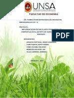 Implementación de Una Planta Productora de Compostaje en El Distrito de Cerro Colorado- Arequipa(1)