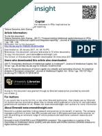 Forward Looking Intellectual Capital Disclosure