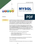 Beginning MySQL Tutorial
