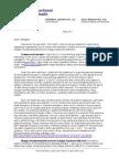 New York State Commissioner Letter