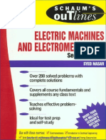 Theory and Problems of Electrical Machines and Electro Mechanics Second Edition