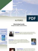 """Autores del libro """"Electricidad verde"""""""