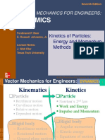 MEC420 Kinetics of Particles Work Impluse
