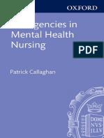 Patrick Callaghan, Helen Waldock-Emergencies in Mental Health Nursing-Oxford University Press (2013)