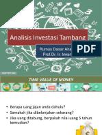Bab II - Rumus Dasar Investasi