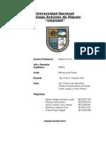 Análisis Granulométrico, Límite Líquido y Plástico