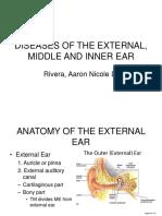 Diseases of the External